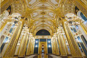 Bên trong Điện Kremlin dát vàng, nơi Tổng thống Putin tuyên thệ nhậm chức ngày 7/5
