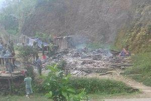 Cao Bằng: Giết 4 người trong gia đình rồi phóng hỏa phi tang
