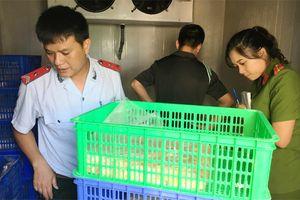 Hà Nội: Yêu cầu cung cấp hồ sơ về 330kg sản phẩm từ gà