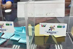 Lịch thi đấu vòng chung kết Robocon 2018 trong tuần này