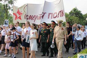 Lễ tưởng niệm 'Binh đoàn Bất tử' tại Hà Nội
