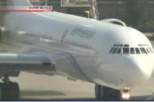 Video máy bay nghi chở lãnh đạo Triều Tiên Kim Jong-un vừa thăm Trung Quốc