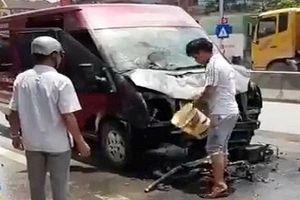 Xe khách Limousine tông xe máy, 2 vợ chồng thiệt mạng