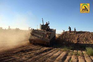 Phiến quân IS Syria ở Deir Ezzor bị quân đội Iraq tập kích