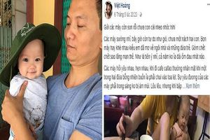 Tâm thư kèm bức ảnh `hạnh phúc ngọt ngào` của ông bố trẻ `gây bão` mạng