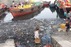 Cửa Lò (Nghệ An): Ô nhiễm môi trường tại bến cá Nghi Thủy