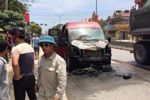 Va chạm với xe khách, 2 vợ chồng tử vong