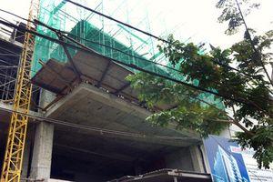 Đứt cáp thang treo xây dựng, 3 người bị thương nặng