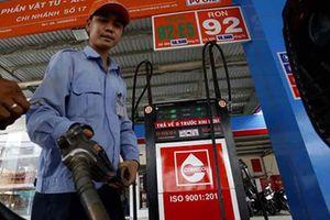 Giá xăng tăng tới 500 đồng/lít từ 15 giờ chiều nay
