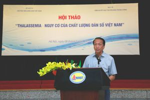 Việt Nam có hơn 12 triệu người mang gen bệnh Thalassemia