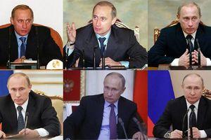 Diện mạo Putin xuyên suốt 2 thập niên nắm quyền