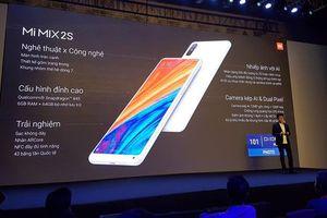 Mi MIX 2S ra mắt: Snapdragon 845, RAM 6/8GB