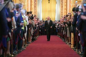 5 khoảnh khắc đặc biệt tại lễ nhậm chức của Tổng thống Putin
