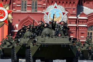 Duyệt và diễu binh mừng ngày Chiến thắng trên Quảng trường Đỏ