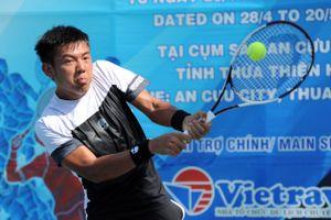 Lý Hoàng Nam bất ngờ dừng bước ở vòng 2 đơn nam quần vợt Việt Nam F2 Futures