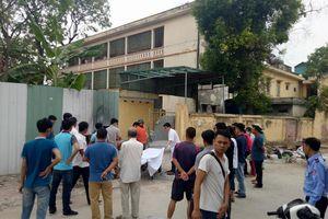 Phát hiện xác bệnh nhân ở cổng sau bệnh viện Hà Nội