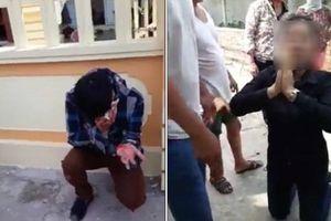Nghi dùng thuốc mê cướp tài sản, đôi nam nữ bị người dân vây đánh
