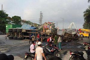 Hải Phòng: 2 xe container tông nhau nổ tung, ít nhất 2 người tử vong