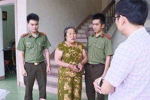 Nghệ An: Bắt bà 'trùm' U60 cầm đầu đường dây làm bằng, chứng từ giả