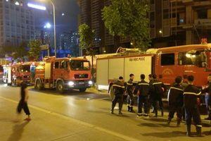 Hà Nội: Cháy ở tầng 25 Tòa nhà thương mại MB Grand Tower