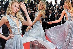 Khoảnh khắc thiên thần nội y xinh như công chúa trên thảm đỏ Cannes