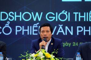 Văn Phú Invest vẫn chưa làm rõ được câu hỏi của phóng viên