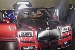 Rolls-Royce Cullinan bất ngờ lộ hình ảnh trước ngày ra mắt