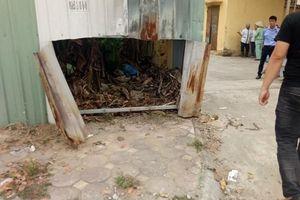 Phát hiện thi thể ở nhà rác Bệnh viện Hà Đông