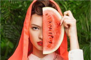 Những loại trái cây mùa hè giúp đẹp da, sạch mụn