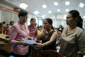 Buổi tiếp xúc cử tri ở quận 2 'nóng rực' về dự án Thủ Thiêm
