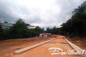 Gia Lai: Lợi dụng xây kè, đổ hàng triệu m3 đất lấp ruộng