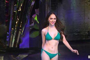 Hương Giang Idol tỏa sáng trong phần thi bikini tại 'Hoa hậu Chuyển giới Quốc tế'
