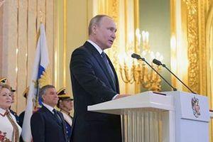 Tổng thống Putin nhậm chức trong bối cảnh khó khăn