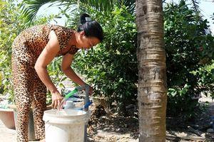 Long An đưa nước sạch về nông thôn