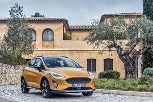 Ford Fiesta Active mới bất ngờ ra mắt tại châu Âu