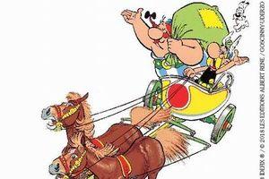 Triển lãm truyện tranh Pháp 'Chuyến đi vòng quanh xứ Gaule của Astérix'
