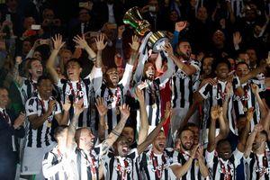 Juventus chỉ cần 20 phút để lần thứ tư liên tiếp vô địch Cúp Quốc gia