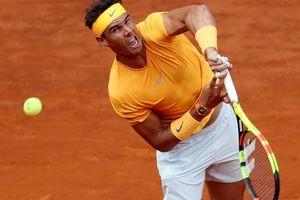Madrid Open: Nadal thắng dễ Monfils, Djokovic lại vỡ mộng tứ kết