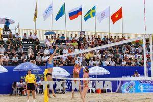 18 đội tham dự Giải bóng chuyền bãi biển nữ thế giới - Tuần Châu Hạ Long mở rộng 2018