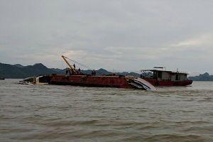 Hải Phòng: Tàu hơn 1.000 tấn bị giông lốc đánh chìm