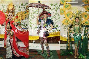 'Sơn nữ H'Mông' của đại diện Việt khiến loạt quốc phục của thí sinh Nữ hoàng du lịch Quốc tế 'lép vế'
