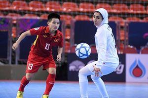 Thua đậm Iran 0-5, ĐT futsal nữ Việt Nam tranh huy chương đồng giải châu lục
