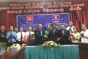 Tăng cường hoạt động xúc tiến đầu tư, quản lý biên giới giữa Quảng Trị -Salavan