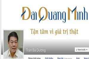 TGĐ Đại Quang Minh lập Facebook đối thoại 'con đường dát vàng'
