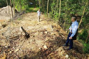 Quảng Nam: Khắc phục xong sự cố lở đập thải