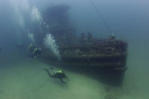Phát hiện tàu ngầm bí ẩn của Đức quốc xã