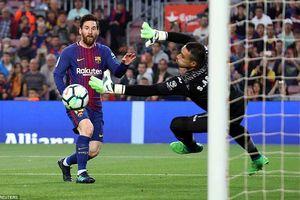 Messi ghi bàn đẳng cấp, Barca đại thắng 5 sao trước Villarreal