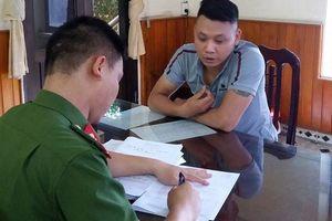 Nam Định: Bắt đối tượng ngang nhiên rao bán vũ khí trên facebook