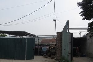 Xã Phụng Châu, huyện Chương Mỹ: Cam kết xử lý dứt điểm công trình vi phạm