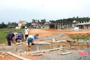 Gấp rút hoàn thành các công trình kỷ niệm 50 năm Chiến thắng Đồng Lộc